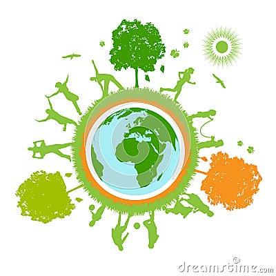 Free Green World , Planet Stock Image - 10980641