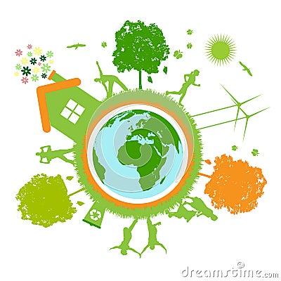 Free Green World , Planet Stock Photos - 10980643