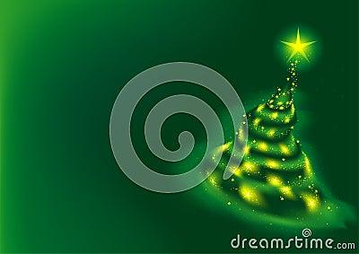 Green Xmas Tree