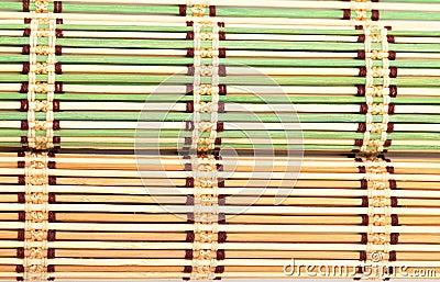 Green and Yellow Bamboo Matt
