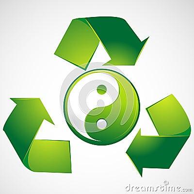 Green Yin Yang
