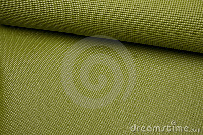 Green Yoga Exercise Mat