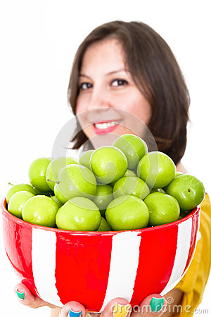 Greengages Presented