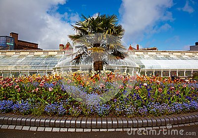 Belfast Botanic Gardens Stock Photo
