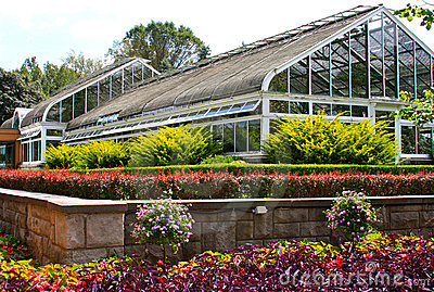 Greenhouse and Gardens