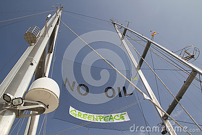 GreenPeace Editorial Image