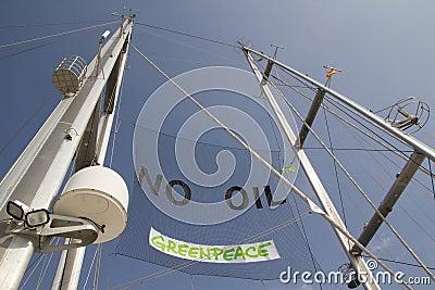 GreenPeace Editorial Image