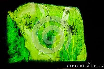 Greenstone gemstone