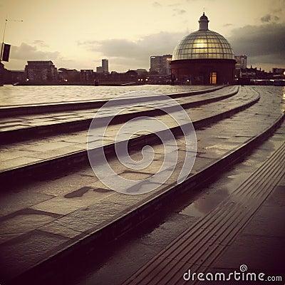 Greenwich after Rain