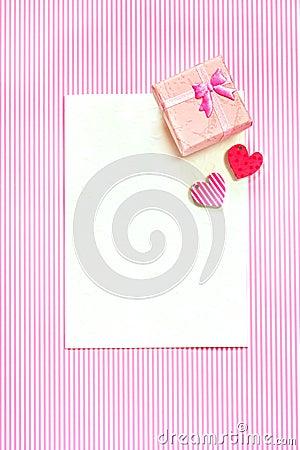 Greeting card.