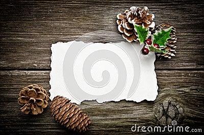 Greeting card for Christmas