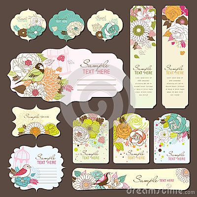 Free Greeting Card & Gift Tag Design Stock Photos - 25943553