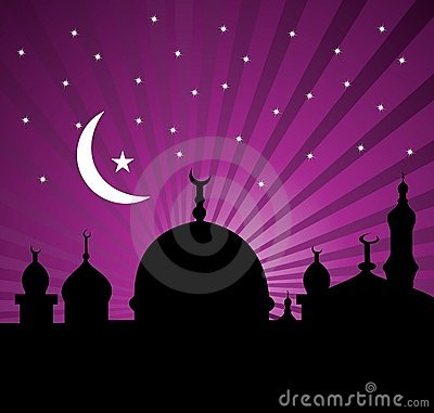Greeting card for holy month of Ramadan Kareem
