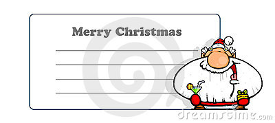 Greeting card Merry Christmas