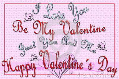 Greeting card for Valentine s Day