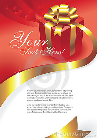 Free Greeting Card Vector Stock Image - 7010871