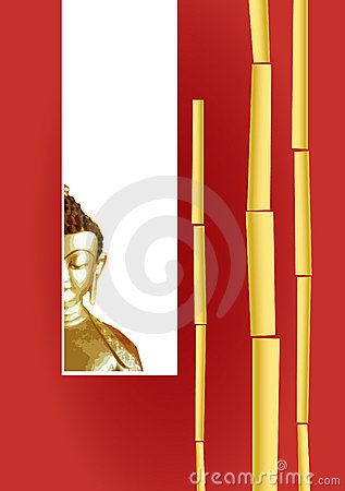 Free Greeting Card With Buddha  Stock Image - 2639191