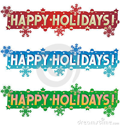 Greeting - Happy Holidays