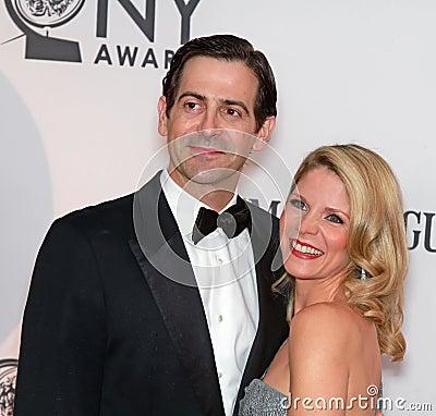Greg Naughton and Kelli O Hara Editorial Photo