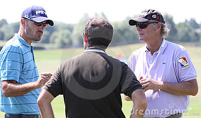 Gregory Havret at golf French Open 2010 Editorial Photo
