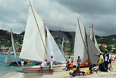 Grenada Sailing Festival Editorial Photography