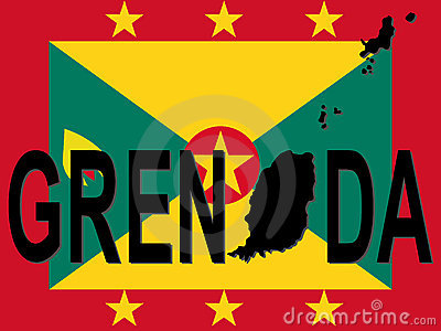 Grenada text with map