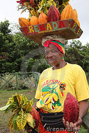 Grenada woman. Editorial Stock Image