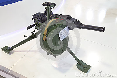 Grenade launcher Editorial Stock Photo