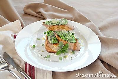 Grenn Pea Baguettes