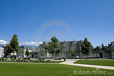 Grenoble city square