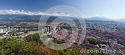 Grenoble panorama