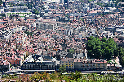 Grenoble rooftops