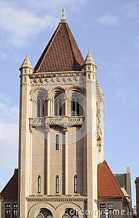 Grenzstein-Mittelkontrollturm