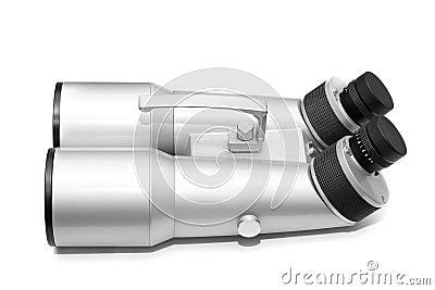 Grey astronomic binocular