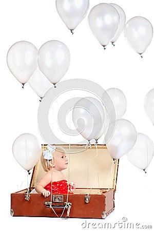 Grey balloons