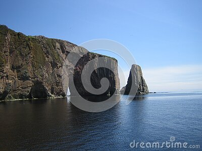 Grey Cliff On Blue Calm Sea During Daytime Free Public Domain Cc0 Image