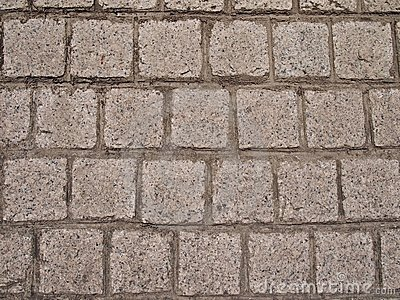 Grey coloured Square shaped stone bricks