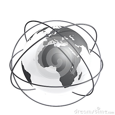 Grey connected Earth