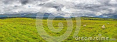 The Grey Corries Range and Ben Nevis, Scotland