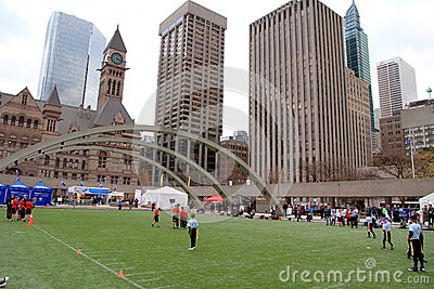Grey Cup Event Editorial Stock Photo