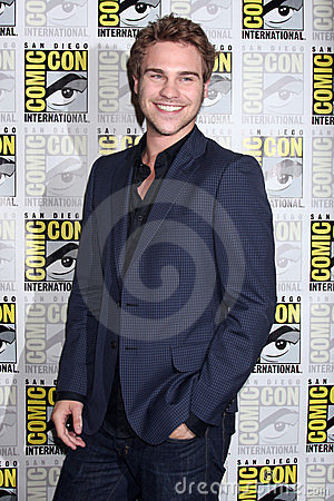 Grey Damon Editorial Stock Photo