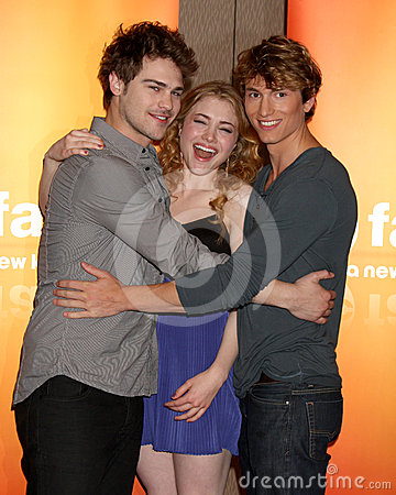 Grey Damon,Benjamin Stone,Skyler Samuels Editorial Photography