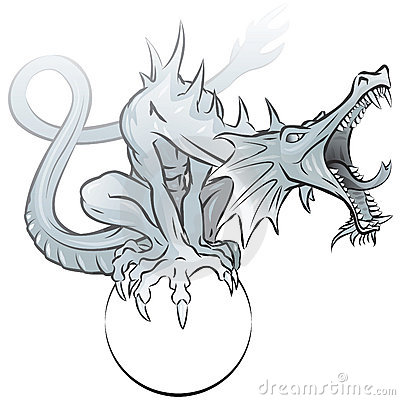Grey dragon
