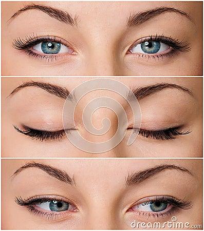 Free Grey Eyes Stock Photo - 32943350