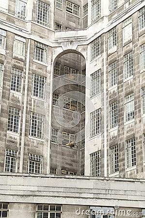 Grey facade