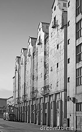 Grey factory