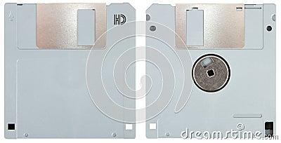 Grey floppy disk