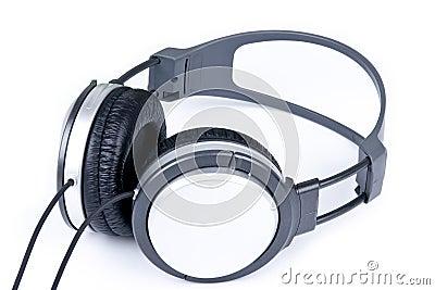 Grey headphone