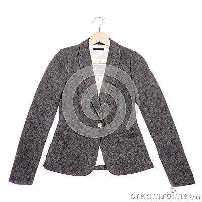 Grey Jersey Blazer