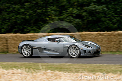 Grey koenigsegg ccx-r edition Editorial Photo